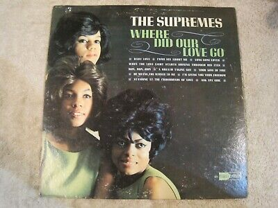 The Supremes Where Did Our Love Go vinyl LP
