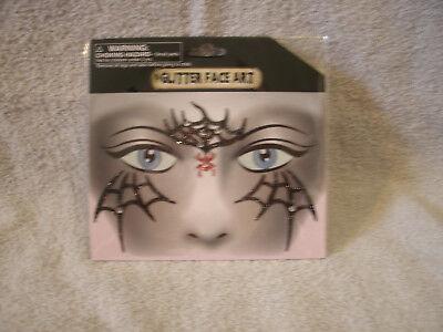 Halloween Glitter Face Art Temporary Tattoos (Face Art Halloween)