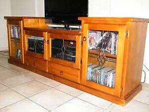 Wooden TV Unit Gunn Palmerston Area Preview