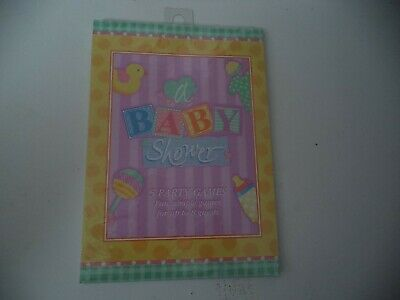 Simple Baby Shower Games (Fun Simple Games For A Baby Shower For Up To Eight)