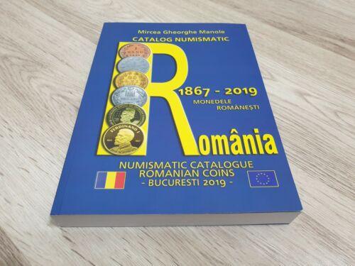 2019 Romania Numismatic Coin Catalog, latest edition book, 1867-2019 coins