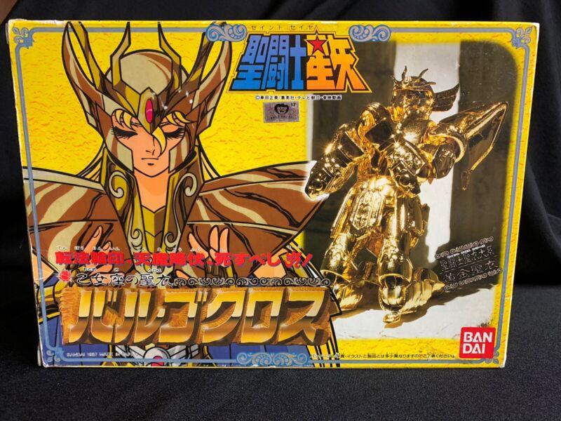 1987 Bandai Vintage Saint Seiya Virgo Cloth Shaka Action Figure MIB Complete