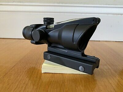 ACOG TA31-CH 4x32mm Rifle Scope W/ Green Reticle- Black