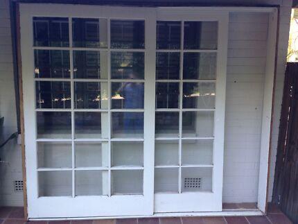 LARGE SLIDING DOOR \u0026 FRAME & doors sliding doors | Building Materials | Gumtree Australia Free ...