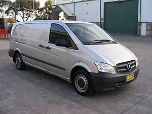 2011  MERCEDES VITO , 116 LWB,  AUTOMATIC,LOG BOOKS, ONE OWNER !! Sydney City Inner Sydney Preview