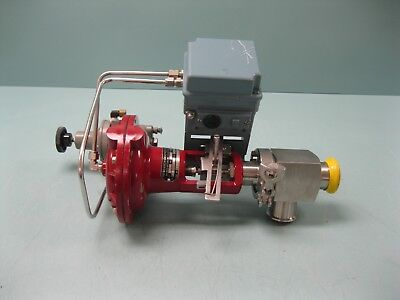 """1-1/2"""" Research Control Valve Badger Meter Eckardt SRI986 Positioner C10 (2421)  for sale  Shipping to India"""