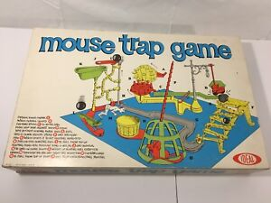 Vintage 1963 IDEAL Mousetrap 1st Edition Board Game- Complete!