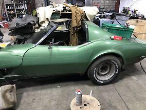 1972 Corvette body
