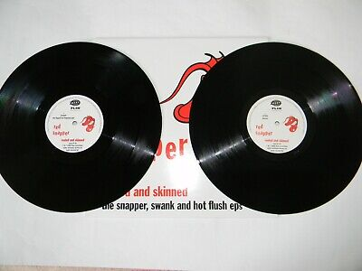 Red Snapper UK Compilation Dbl Remix Reeled & Skinned NM Warp LP 33 Records '95