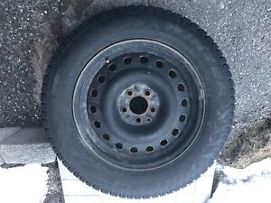 Winter tires and rims 225/65 R17 106T set of 4