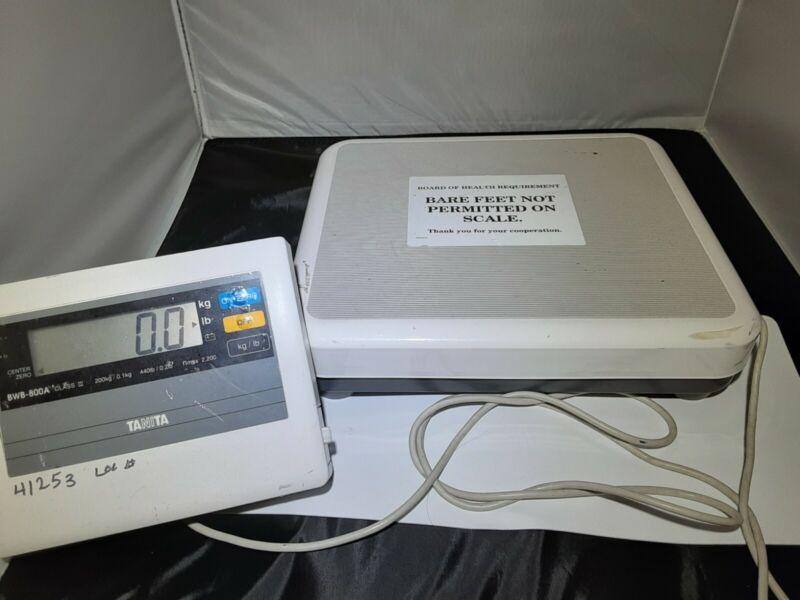 TANITA BWB-800 Digital Scale w/ Remote Display