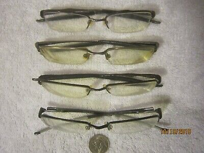 4 OAKLEY eyeglasses BIKERS vintage WOMEN MENS hollywood Sculpt VALVE RHINOCHASER