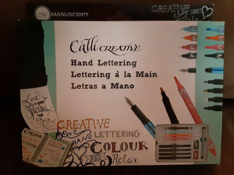 Manuscript Calli Creative Hand Lettering.