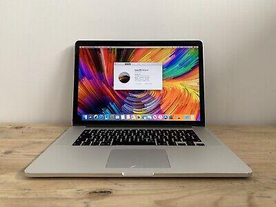 "Apple MacBook Pro 15"" Late 2013 Retina 2.6ghz i7 16gb Ram 256gb SSD 750m (1910)"