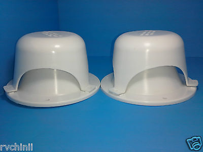2 RV Camper and Trailer  Roof Vent Cap, for Black and gray tank  plumbing Sewer ()