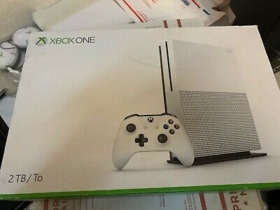NEW Microsoft Xbox One S Launch Edition 2TB Gaming Console White