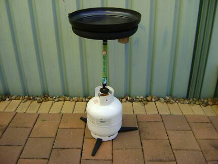 GASMATE portable bbq with 4kg gas bottle with gas