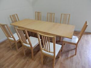 6 to 8 person extendable dinning table Sydney delivery available Windsor Hawkesbury Area Preview