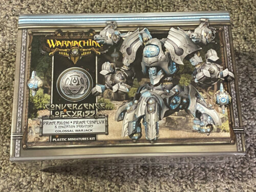 Warmachine Convergence - Prime Axiom/Prime Conflux Colossal Warjack - New Sealed