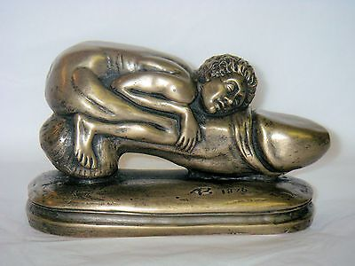 "Bronze ""Ivan Biggon"" Erotic Figurine Statue Ornament"