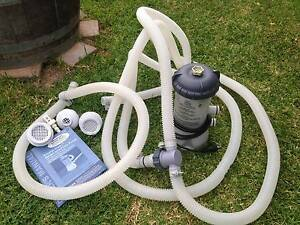 Krystal Clear Pool Filter Pump with Info Book Hoses Extras Preston Darebin Area Preview