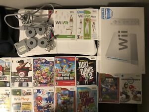 Wii & WiiFit with Lots of Games Original Box