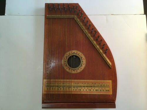 Zither 44 String Lap Harp by Oscar Shmidt Jersey City NJ