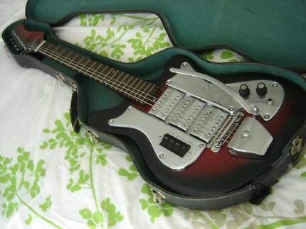 1960s vintage electric guitar