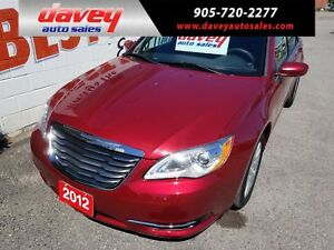 2012 Chrysler 200 LX LOW KILOMETRES, POWER WINDOWS AND LOCKS