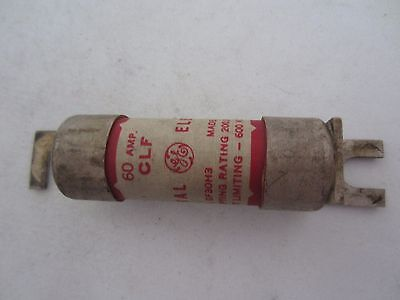 General Electric Clf Red Fuse 60 Amps Tested