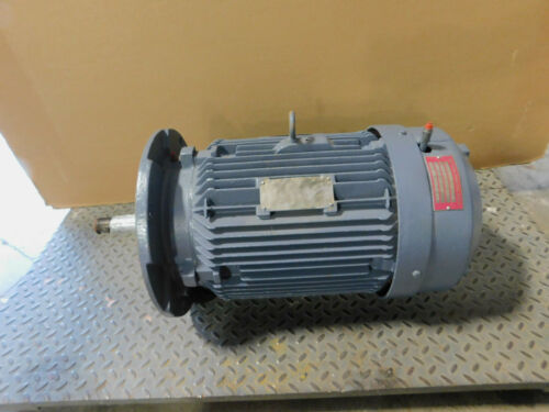 Siemens Electric Motor 20 HP 230/460 Volts, 3525 RPM, 256T Frame, 3 Phase, TEFC