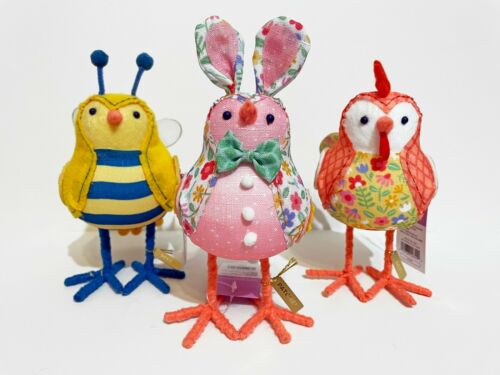 🌟 NEW 🌟 3 Target SPRITZ 2021 Easter Birds Set - Patches Beezy Coopster - NWT