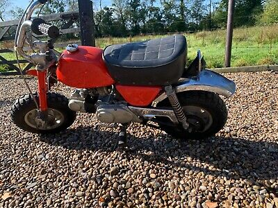 1972 Honda Z50A K3 restoration project mini bike barn find import collectors
