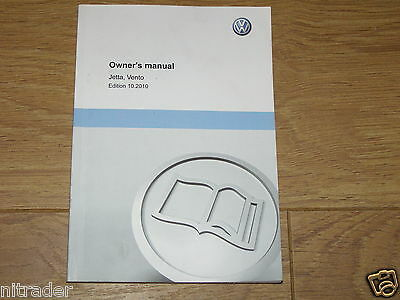 VOLKSWAGEN JETTA OWNERS MANUAL HANDBOOK  2011 - 2018 MODEL  FREE UK POSTAGE
