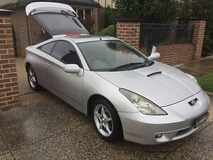 2002 Toyota Celica Coupe Fitzroy Yarra Area Preview