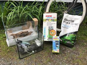 Aquariums and supplies