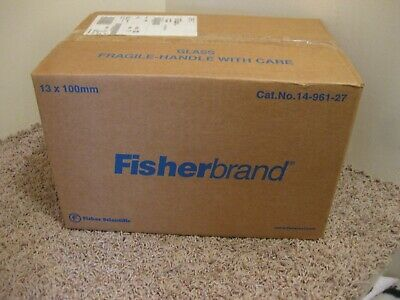 Fisherbrand Culture Tubes 1000 Units Glass Test Tube 13x100mm 14-961-27