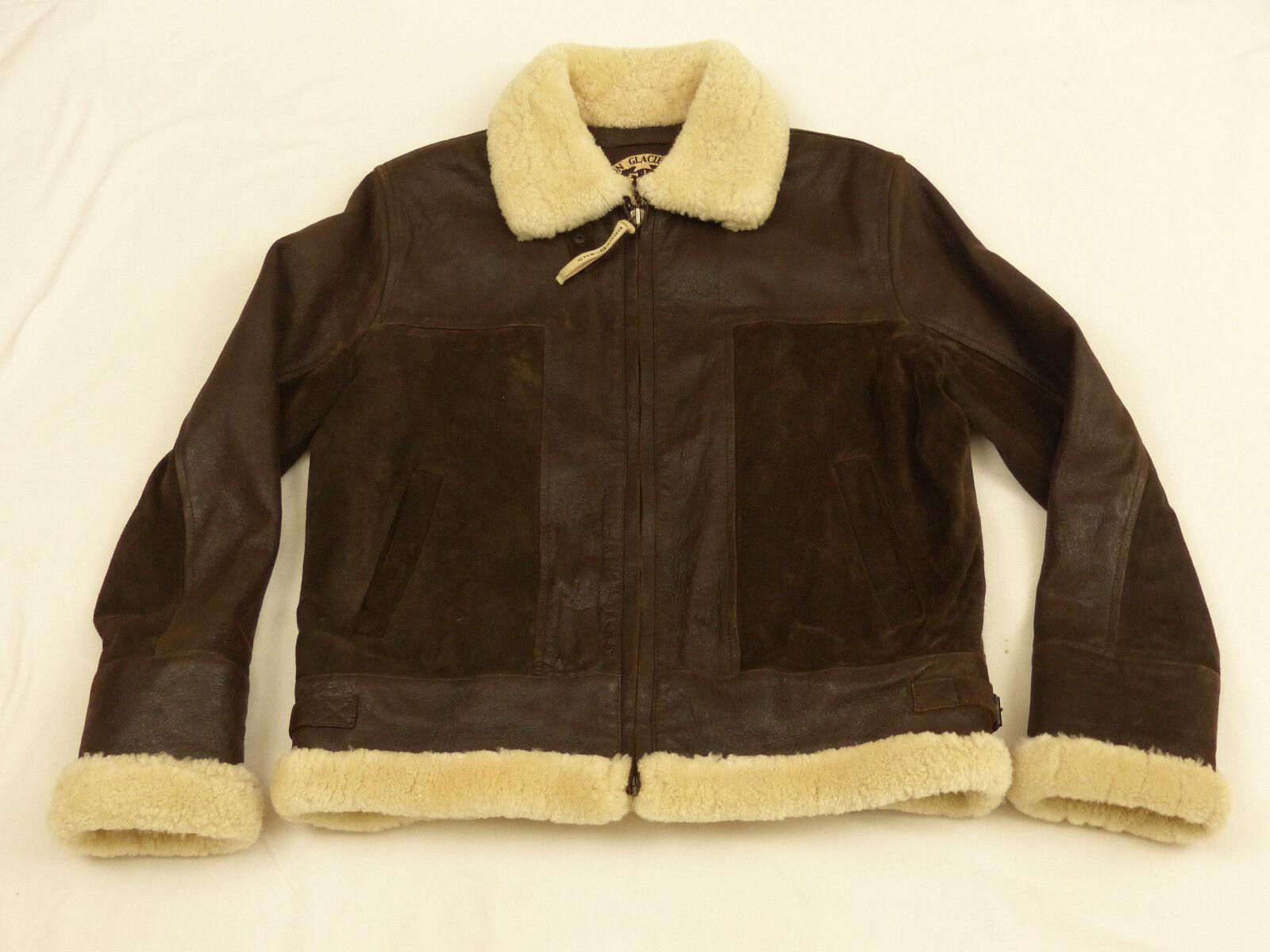 Chevignon bombardier b3 pilotes aviateur vintage veste brouk taille:l wie neuf
