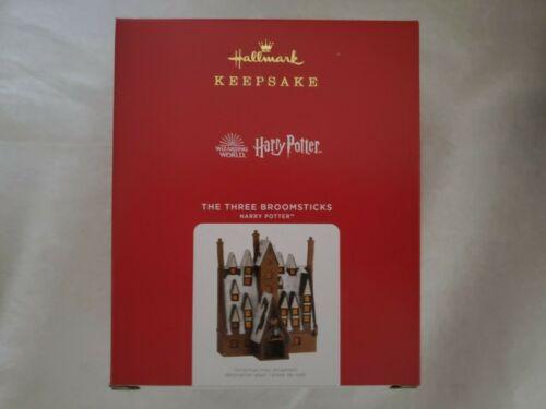 Hallmark 2021 Harry Potter The Three Broomsticks Christmas Keepsake Ornament
