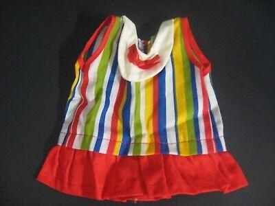 Vintage 60's 70's Ideal Velvet Dress Outfit VTG Crissy Family Clothing Dress