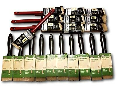 20 - PIECE PROFESSIONAL SYNTHETIC PAINT BRUSH ASSORTMENT - Paint Brush Assortment