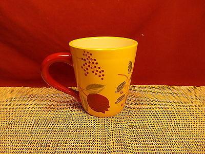 - Zrike China Pomegranate Pattern Mug 4 1/4