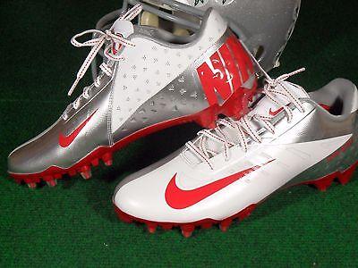 cda9b12dda8a Nike Vapor Talon Elite Low TD Ohio State Buckeyes Team Issue Football Cleats  PE