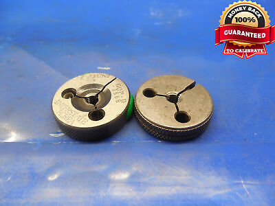 10 32 Unf 2a Thread Ring Gages 10 .190 Go No Go P.d.s .1688 .1658 Quality