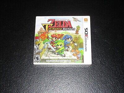 Legend Of Zelda: Tri Force Heroes Nintendo 3DS Sealed comprar usado  Enviando para Brazil