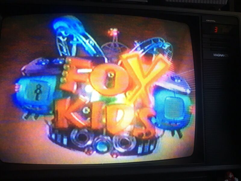 VHS SOLD AS BLANK FOX KIDS NICK CARTOON NETWORK POKÉMON POWERPUFF ROCKET POWER