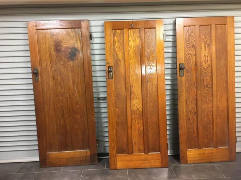 1 of 5 & Aet Deco timber doors   Building Materials   Gumtree Australia ...