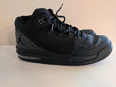 Nike Air Jordan Flight Origin 2 BG Blk/Gry Big Kids Basketball Shoes Size 6Y*