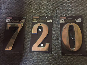 New House Numbers