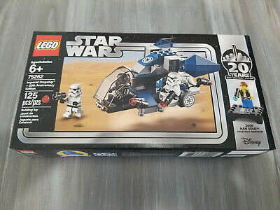 Lego #75262 Star Wars Imperial Dropship 20th Anniversary NISB! 125 pieces!